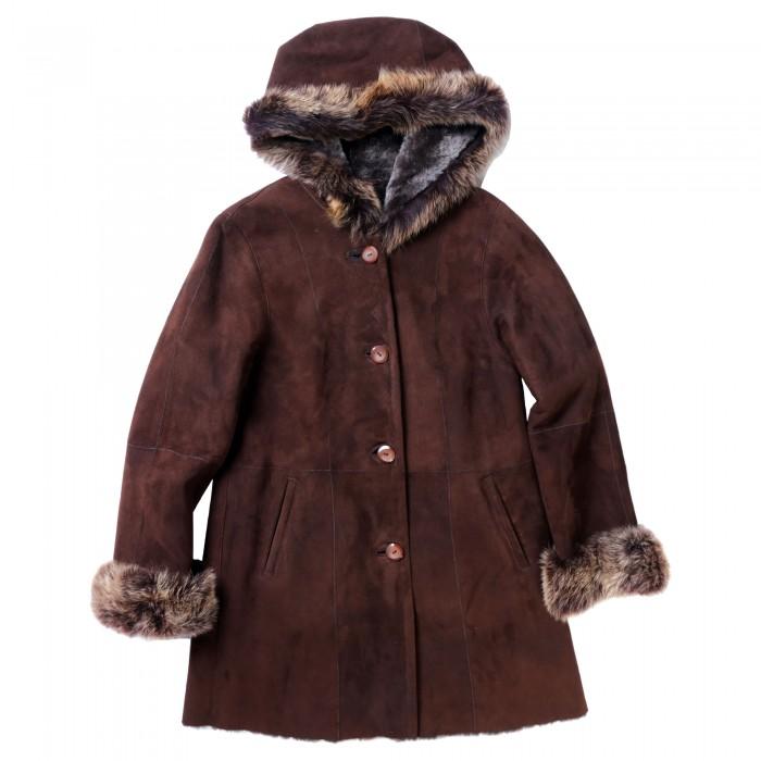 Garnet Shearling Coat