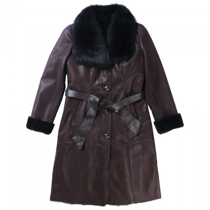 Jade Shearling Coat