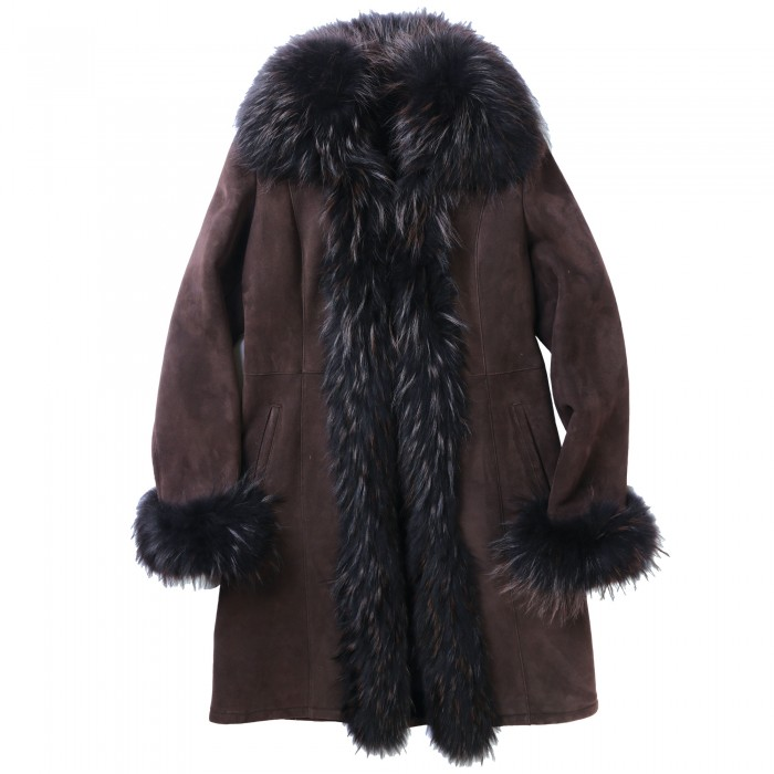 Pomona Shearling Coat