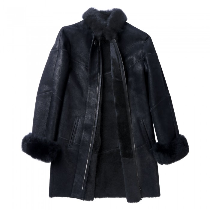 Lelia Shearling Coat