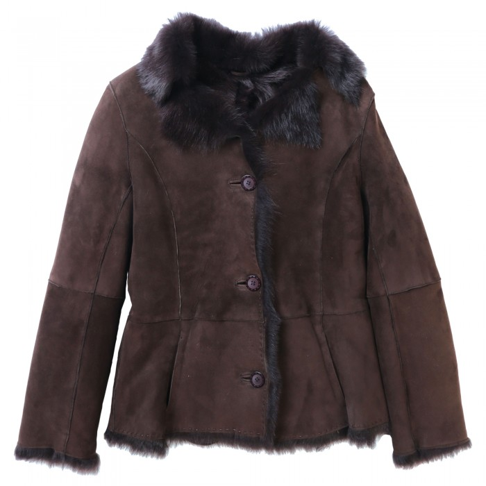 Orleanna Shearling Jacket