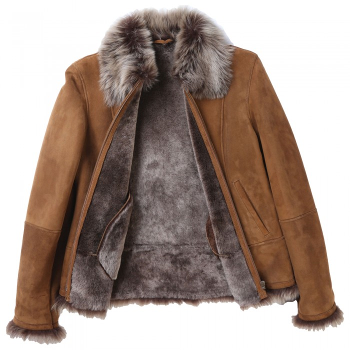 Zora Shearling Coat