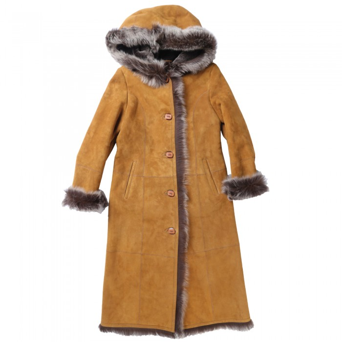 Aurora Shearling Coat