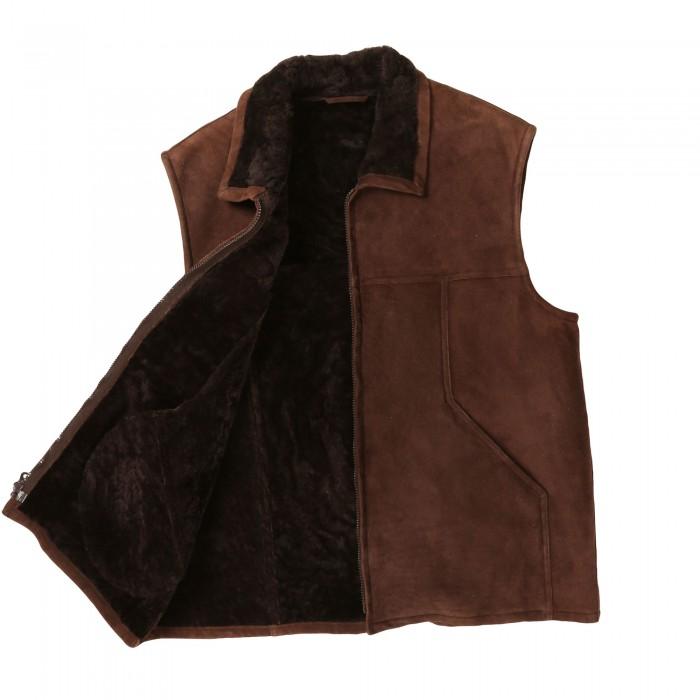 Boulder Shearling Vest (DB)
