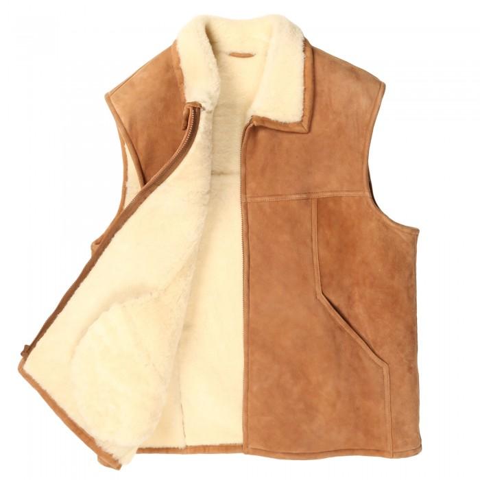 Boulder Shearling Vest (RB)