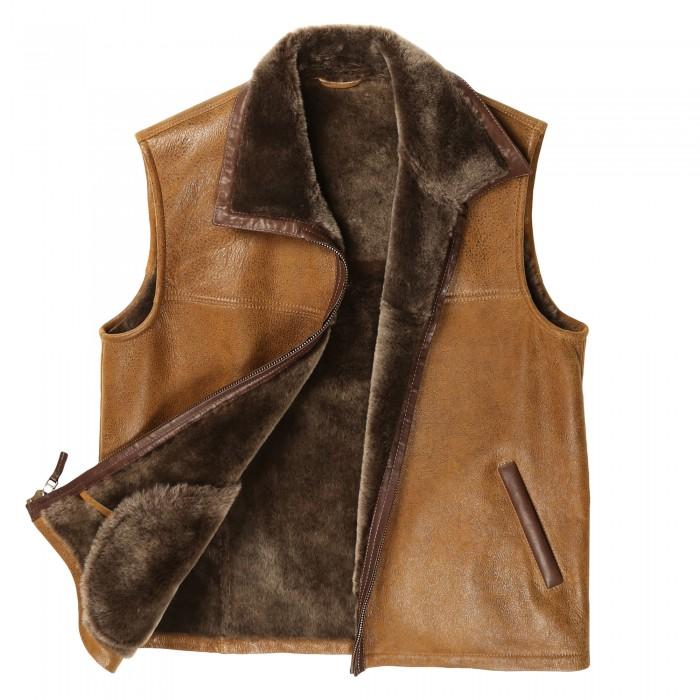 Boulder Shearling Vest