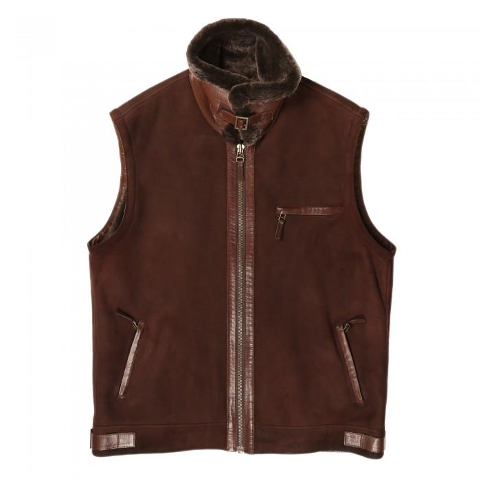 Finlay Shearling Vest