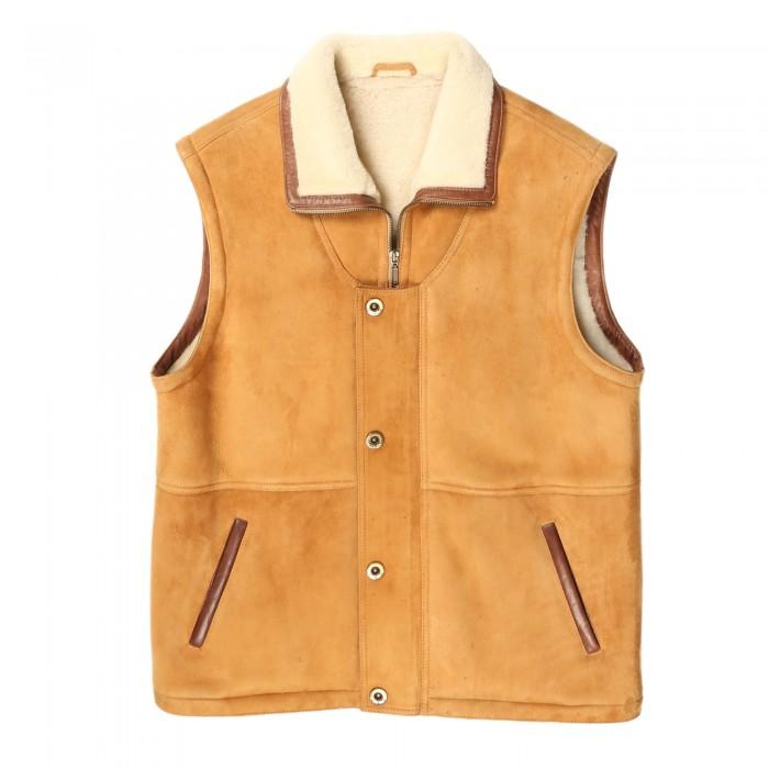Platte Shearling Vest