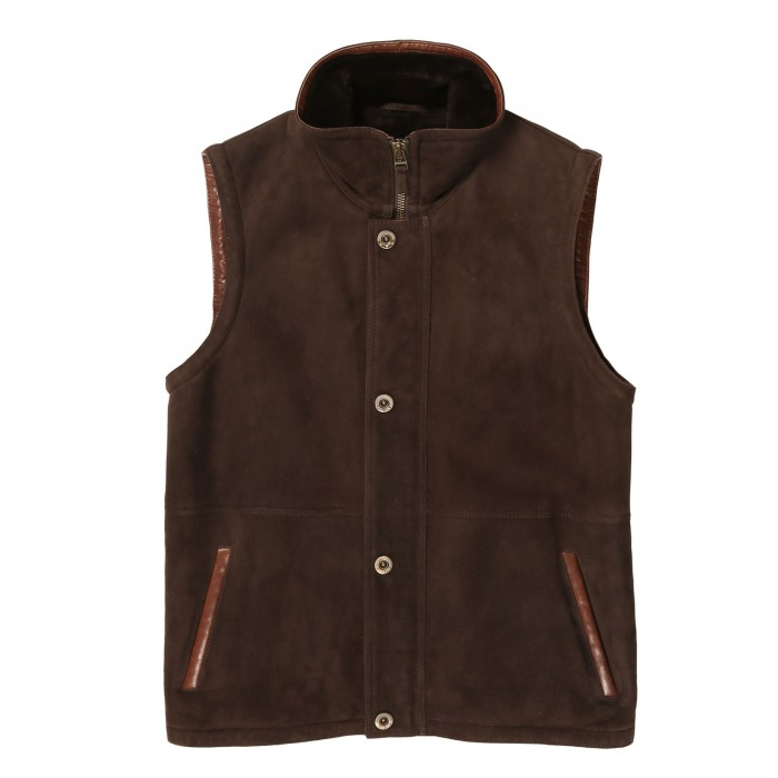Clarke Shearling Vest