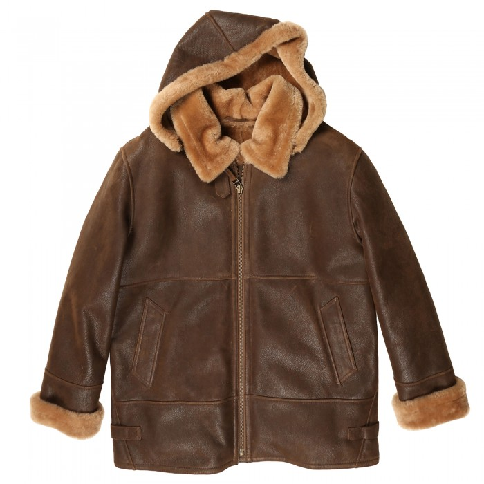 Crane Shearling Jacket