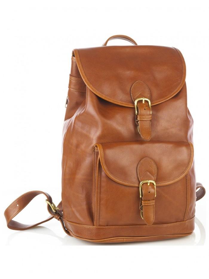 Large Drawstring Backpack w/Front Buckle Pocket
