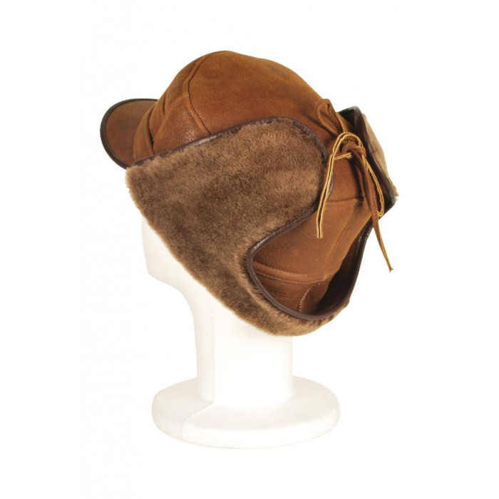 Men's Chicago Sheepskin Hat