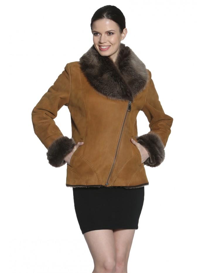Gerbera  Shearling Jacket